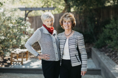 Ojai Women's Fund co-founders Karen Evenden and Peggy Russell.