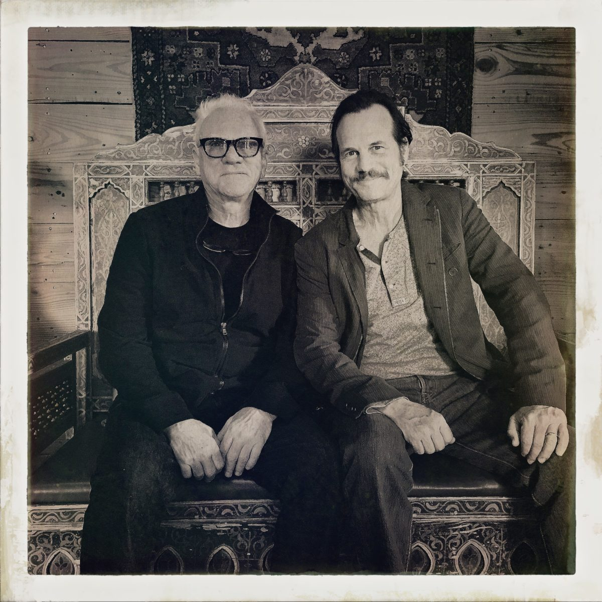 Bill Paxton and Malcolm McDowell, Ojai friends and neighbors