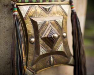 Tuareg pendant called a Tchirot