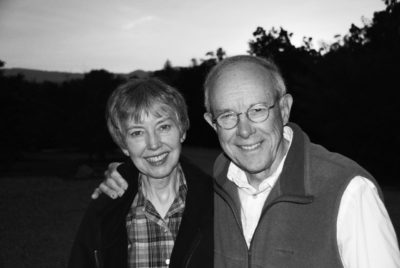 Kathy and John Broesamle. John, an author and retired professor, will speak about past threats the Ojai Valley.