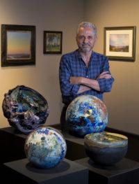 Khaled Al Awar, owner of Primavera Gallery