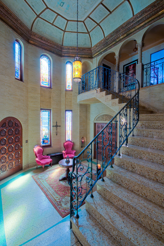 the acacia mansion staircase